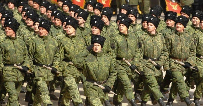 В России происходит возрождение казачества