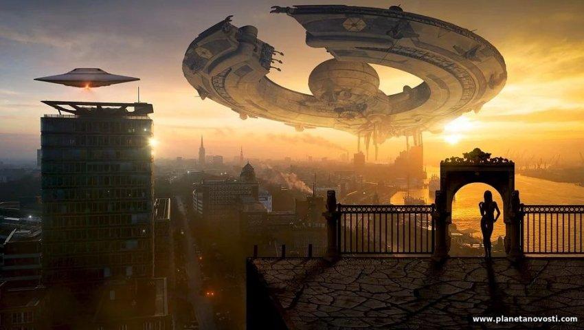 Профессор из США заявил, что НЛО — это «круизные лайнеры» из будущего