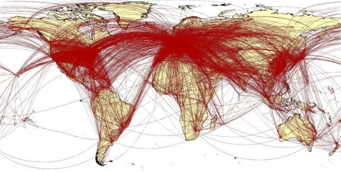 Как распространялся коронавирус: ученые создали карту