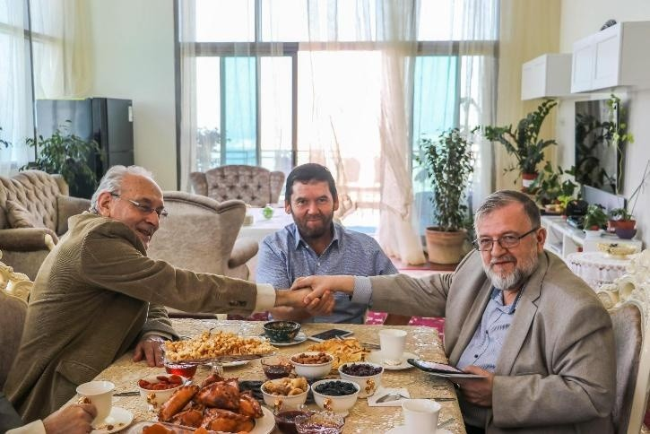 Встречи на берегу Персидского Залива: Выездное заседание Президиума Академии Телевидения и Радио (ЕАТР)