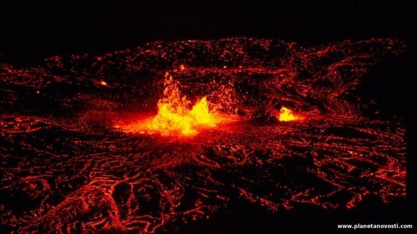 На острове в Тихом океане произошло «негативное извержение»