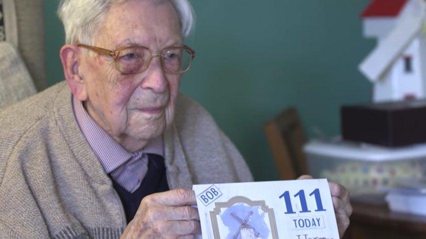 Боб Вейтон - самый старый мужчина в мире