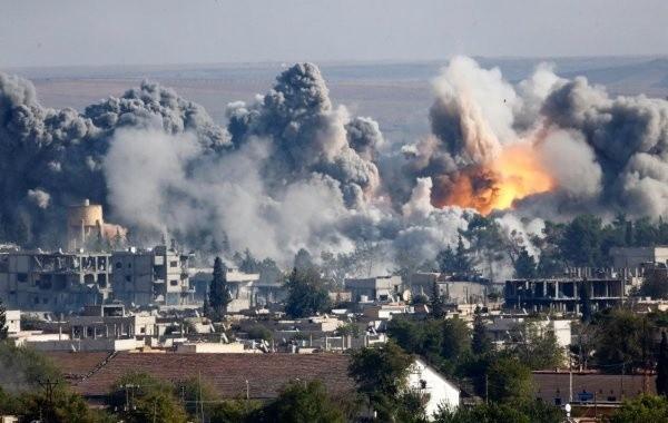 Неопознанные самолеты атаковали Сирию