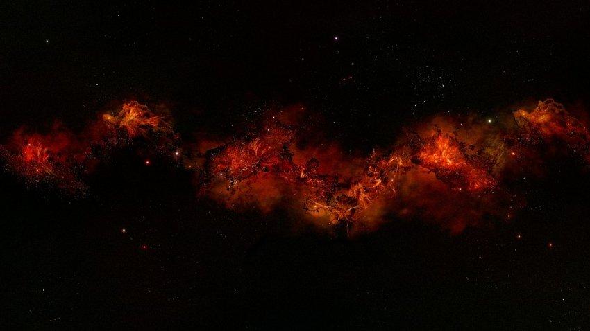 Ученые выяснили происхождение аномального излучения в космическом пространстве