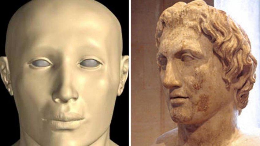 Как найти Александра Македонского в гробнице Тутанхамона?