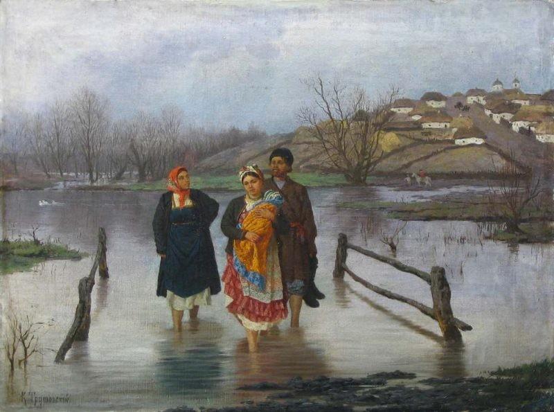 Народный праздник Никита Водопол отмечали на Руси 16 апреля