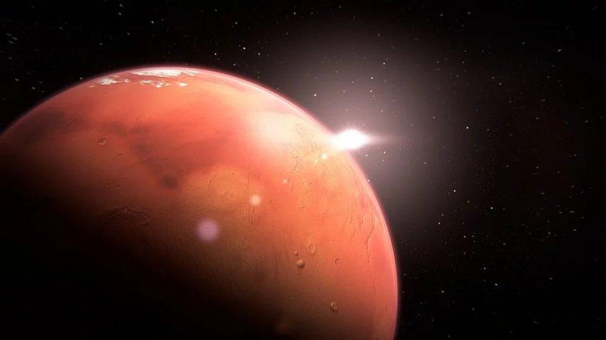 НАСА раскрыло тайну: на Марсе есть вода в двух разных резервуарах