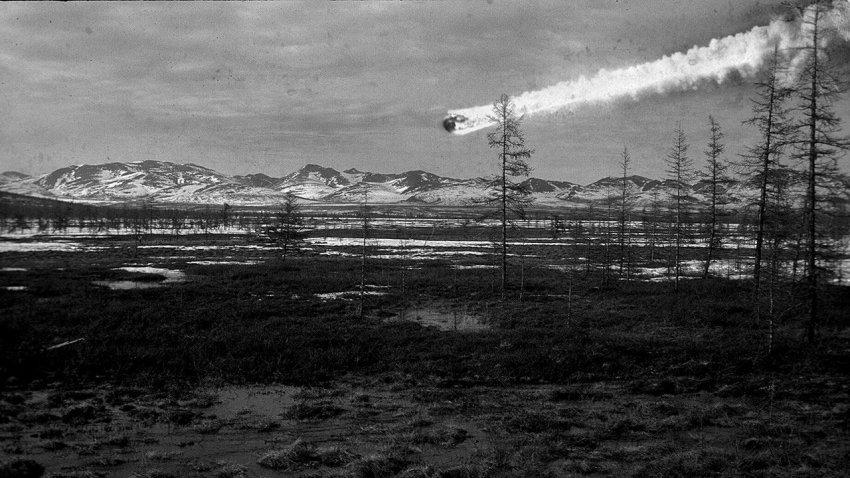Поразительные выводы ученых: тунгусский метеорит мог улететь обратно в космос