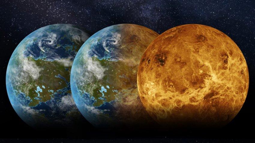 Миллиарды лет назад Венера была похожа на Землю и даже могла быть обитаемой