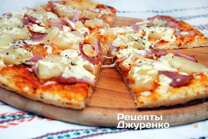 Вкусная пицца по рецепту Сергея Джуренко
