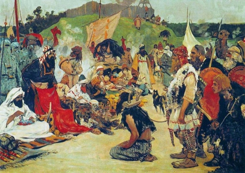 О роли европейской работорговли в закреплении отсталости африканских народов