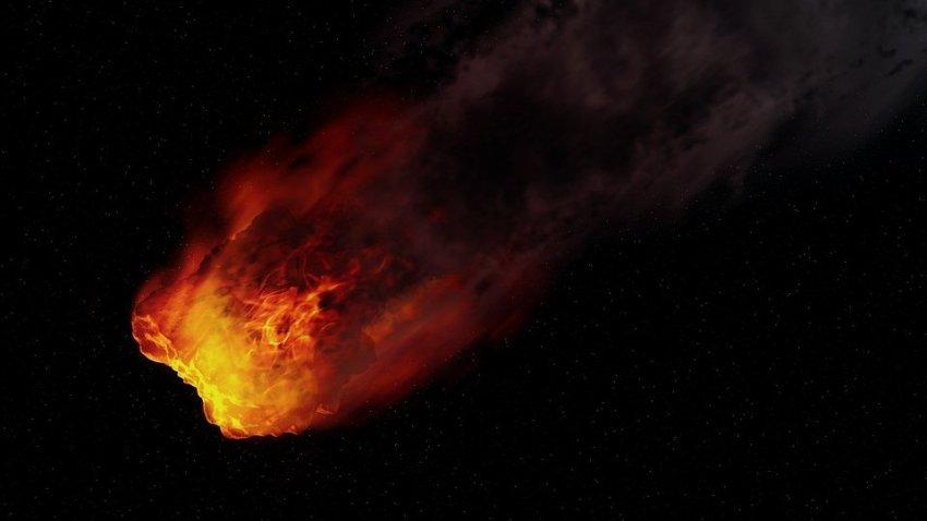 """""""Огненный шар"""" уничтожил сирийскую деревню Абу-Хурейра"""