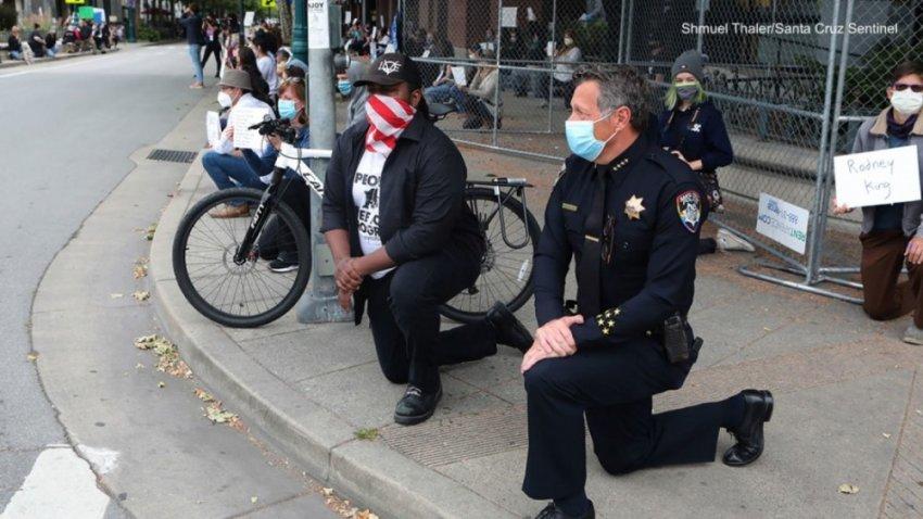 Расовое унижение или зачем белых ставят на колени перед чёрными?