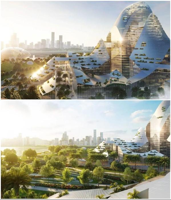 Китай готовит проект футуристического «умного» без автомобилей