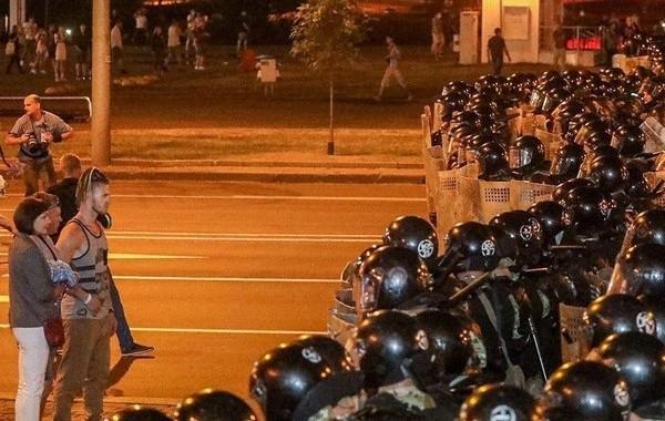 В Белоруссии проходят акции протестов после выборов президента