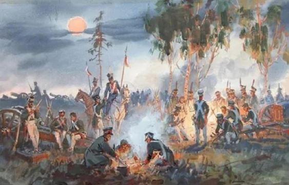 Что составлял паёк русских солдат в 1812 году