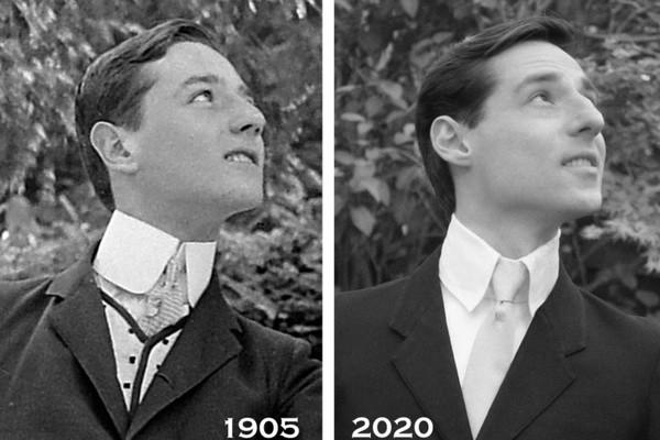 Мужчина шокирован: он обнаружил себя на фотографии 115-летней давности