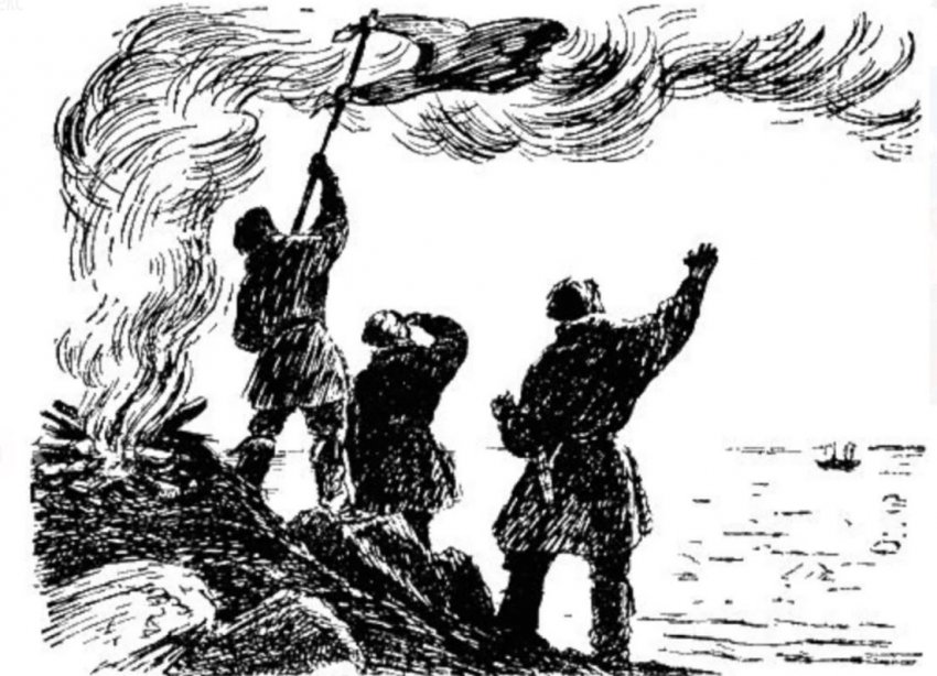 Русские Робинзоны! Как четыре моряка провели 6 лет на необитаемом острове