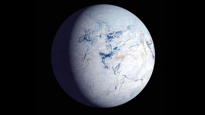 Ученые определили, какой была температура на Земле в ледниковый период