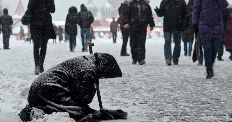 Жизнь попрошаек в Царской России