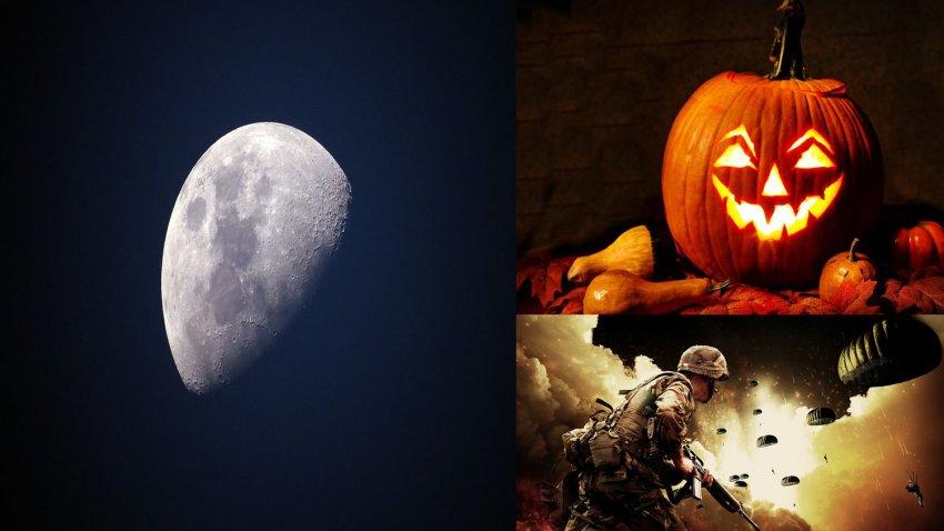 На Хэллоуин 2020 ожидается полнолуние, которого не было со времен Второй мировой