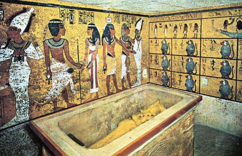 Как была обнаружена гробница Тутанхамона?