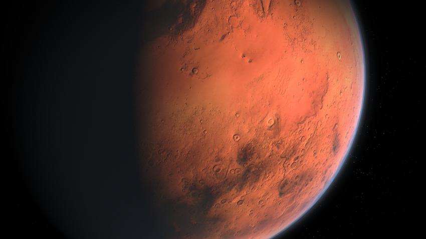 Вода на Марсе: под поверхностью планеты нашли сеть подземных озер