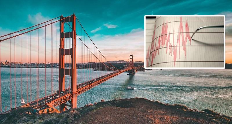 На один из Калифорнийских городов обрушился рой из 240 землетрясений