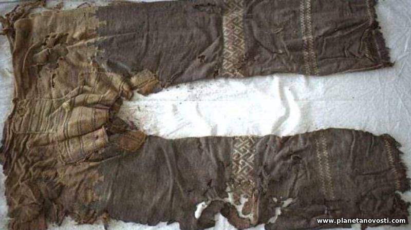 В Китае обнаружили штаны возрастом более трех тысяч лет