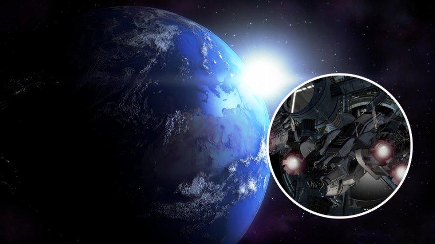 Объект, обнаруженный на орбите Земли, может быть искусственного происхождения