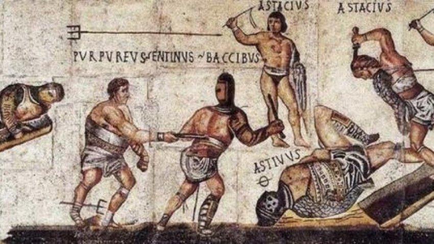 Как гладиаторские бои пришли от зарождения к упадку