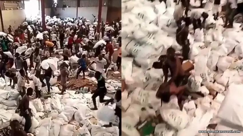 Жители Нигерии массово грабят склады с едой: в стране начались голодные беспорядки