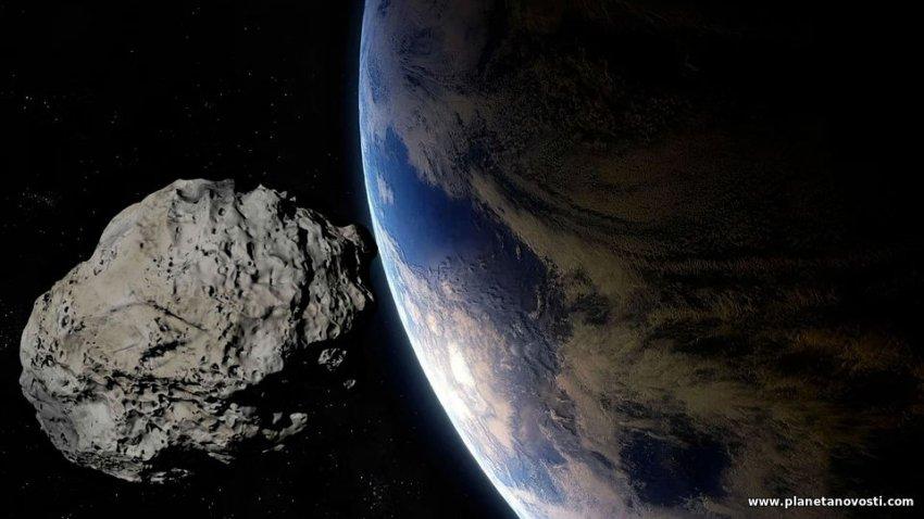 Названа дата возможного падения астероида Апофис на Землю