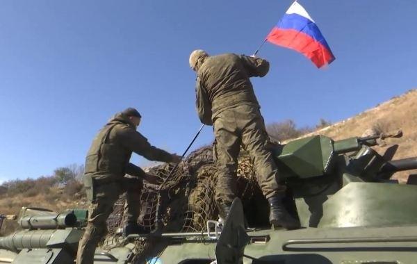 Российских миротворцев в Карабахе обстреляли неизвестные
