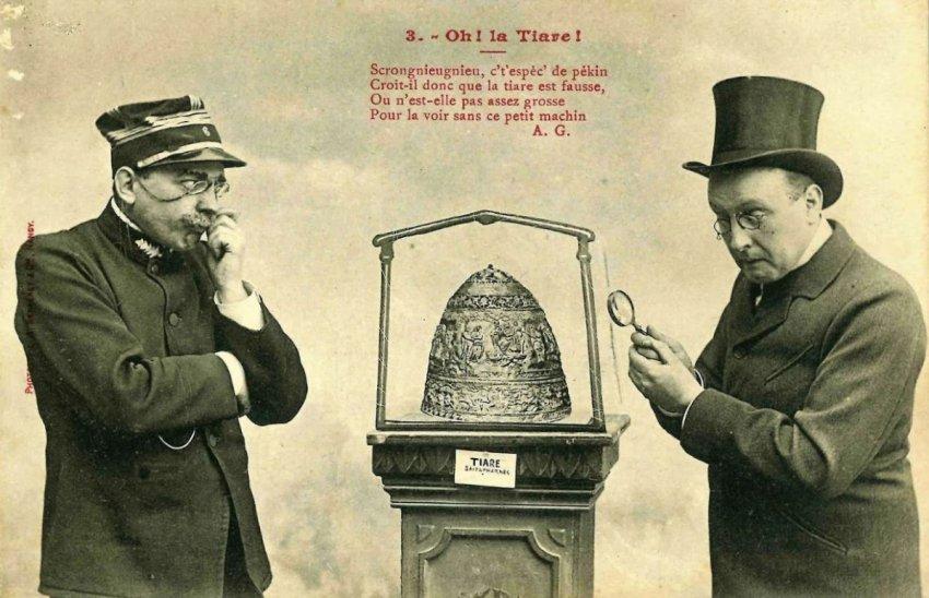 Тиара Сайтаферна: как русские евреи провернули крупную аферу