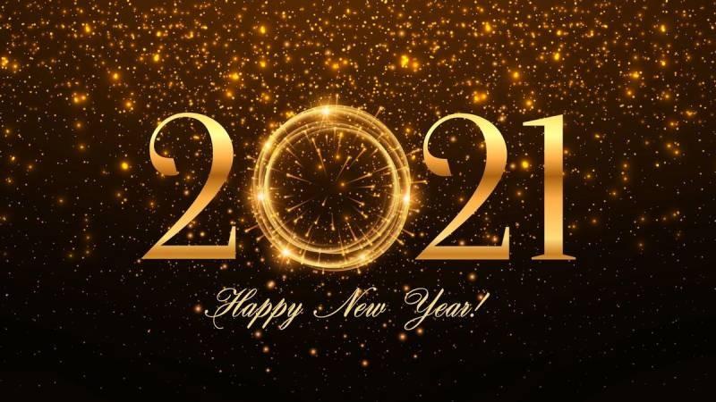 Красивые картинки на Новый год Быка 2021 для коллег, друзей и родственников
