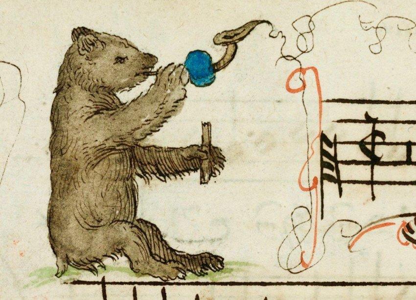 В Средние века царём зверей считали медведя