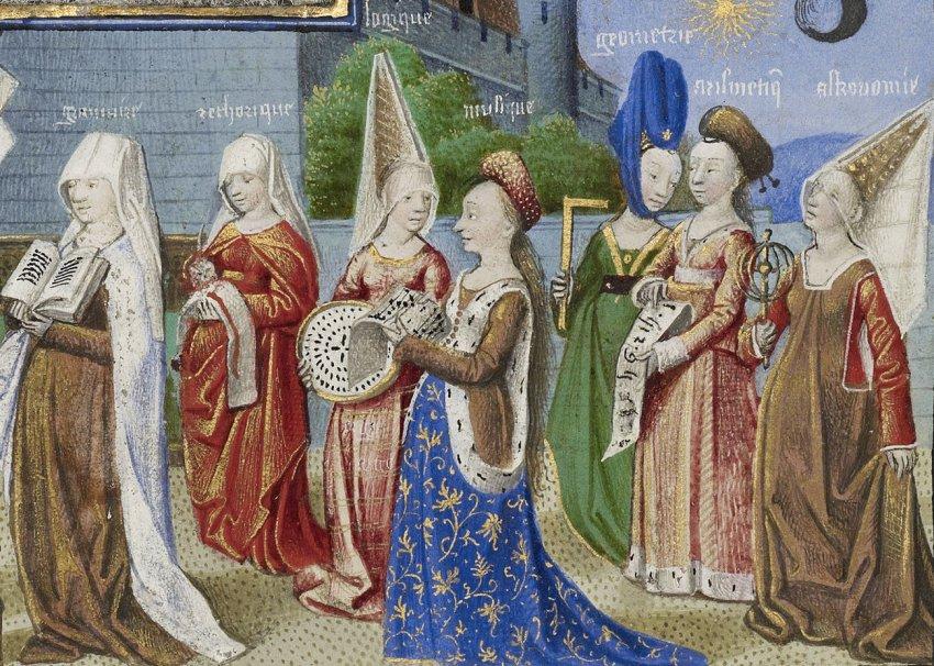 Стандарты красоты средневекового человека