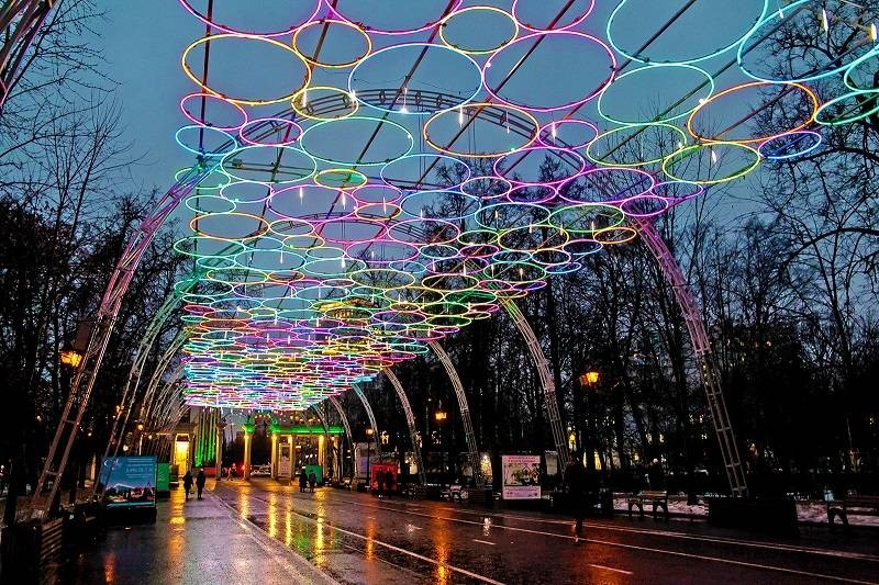 Куда сходить в Москве в период с 2 по 6 января 2021 года