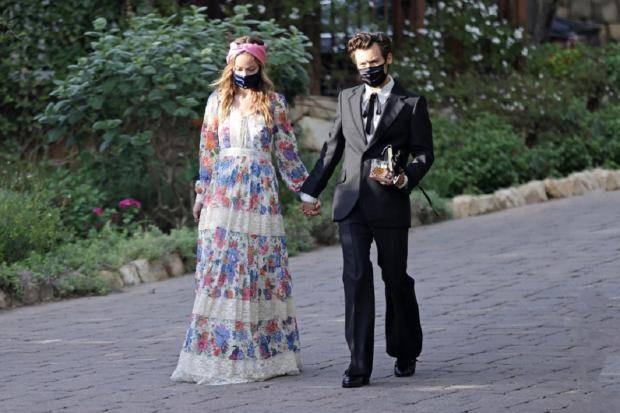 В Голливуде появилась новая пара в лице Гарри Стайлса и Оливии Уайлд