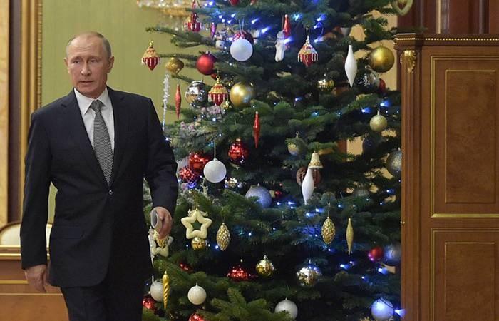 Стало известно, где и с кем президент РФ Владимир Путин встретит Рождество