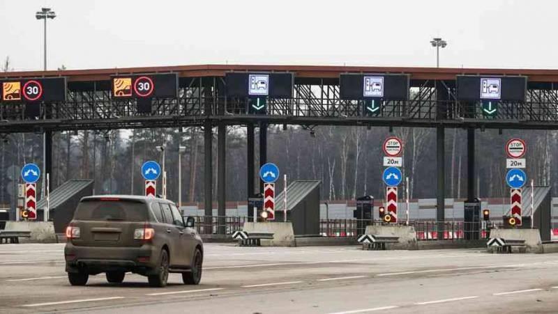Езда с комфортом по платным дорогам России стоит денег