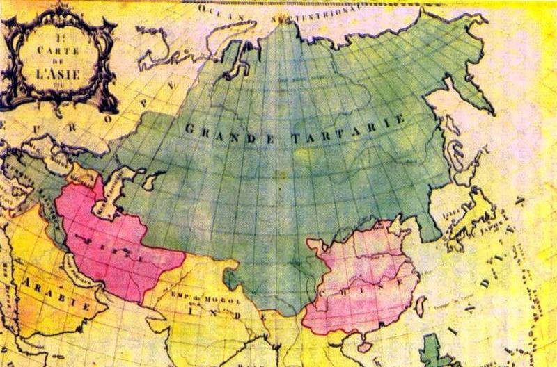 Как обозначали на картах территорию России в разные эпохи истории и почему