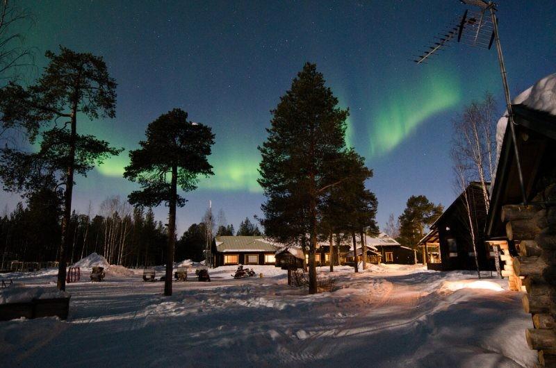 Как сделать хороший кадр северного сияния на мобильный телефон