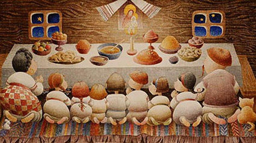 Кушать в Рождественский сочельник принято по установленным много веков назад правилам