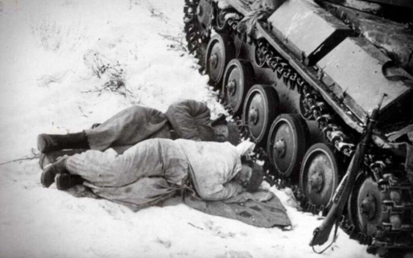 Как во времена ВОВ согревались зимой танкисты