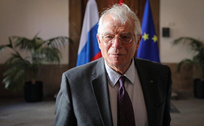 Глава дипломатии ЕС Жозеп Боррель прибыл с визитом в Россию