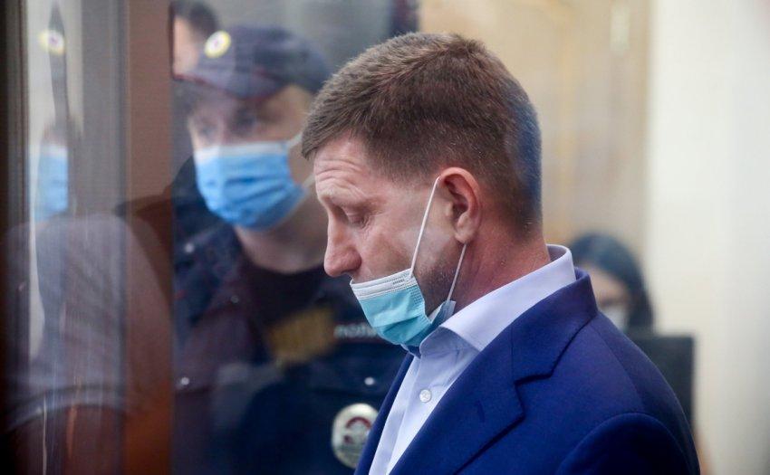 СКР предъявил обвинение экс-губернатору Сергею Фургалу