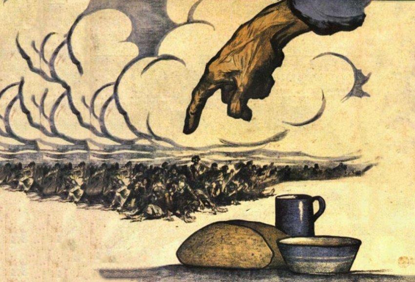 Лютый голод 1921 года, как это было