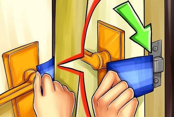 Способы открытия собственной двери, если она случайно захлопнулась